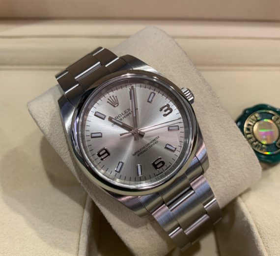 A OYSTER PERTPETUAL 34MM MODEL 114200