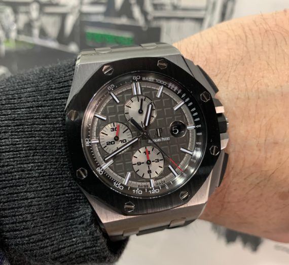 AUDEMARS PIGUET OFF SHORE TITANIUM CASE #26400IO 9
