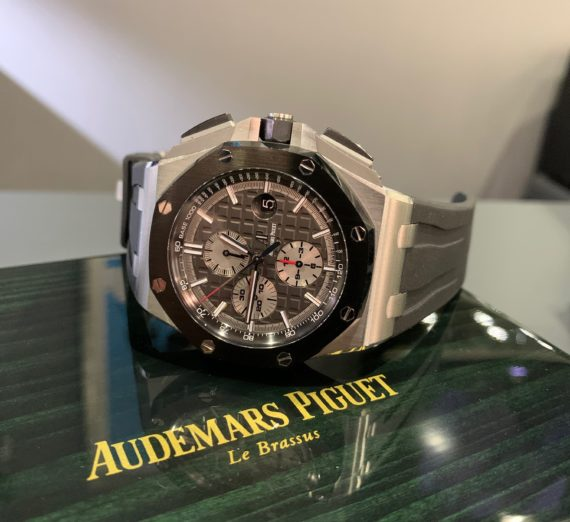 AUDEMARS PIGUET OFF SHORE TITANIUM CASE #26400IO 10