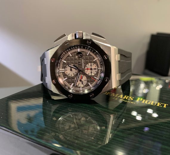 AUDEMARS PIGUET OFF SHORE TITANIUM CASE #26400IO 12