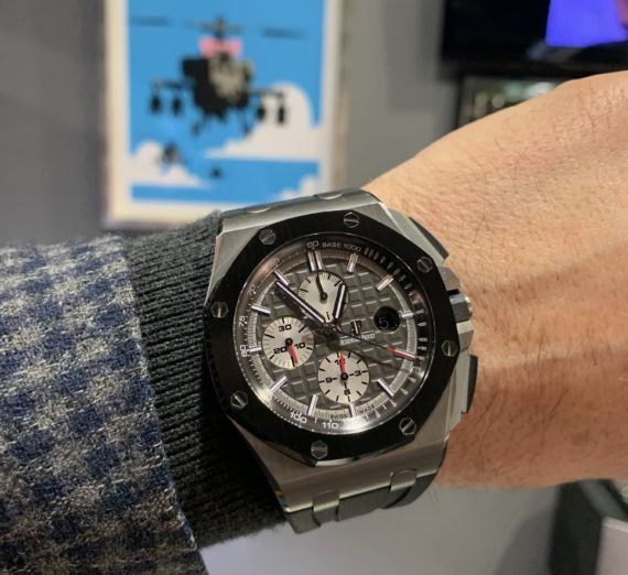AUDEMARS PIGUET OFF SHORE TITANIUM CASE #26400IO 17