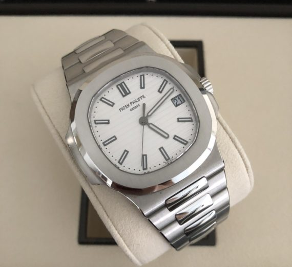 PATEK PHILIPPE NAUTILUS 5711 IN STAINLESS STEEL WHITE DIAL
