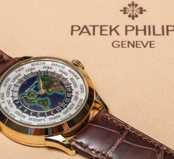 PATEK PHILIPPE WORLD TIME GOLD 5131J-014 2