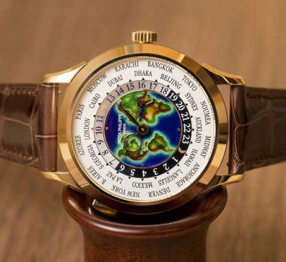 PATEK PHILIPPE WORLD TIME GOLD 5131J-014 3
