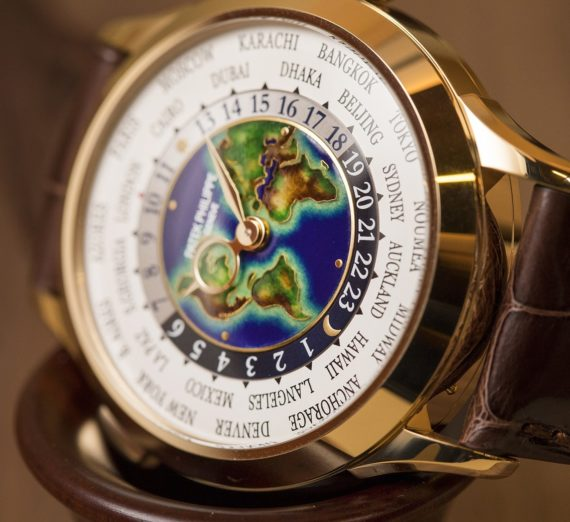 PATEK PHILIPPE WORLD TIME GOLD 5131J-014 4
