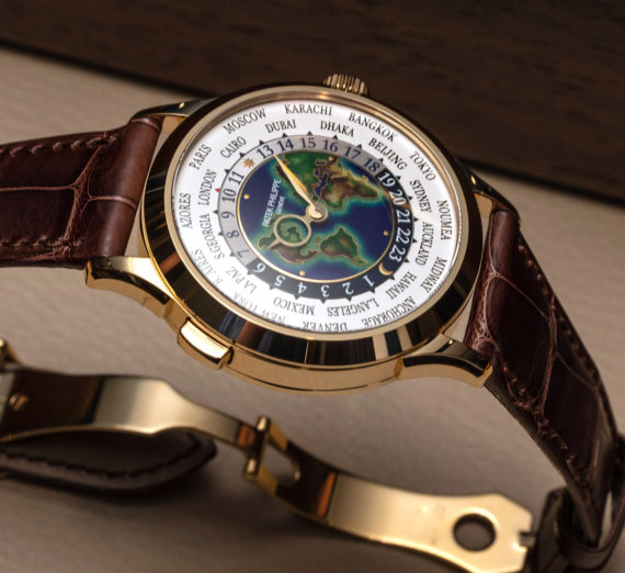 PATEK PHILIPPE WORLD TIME GOLD 5131J-014