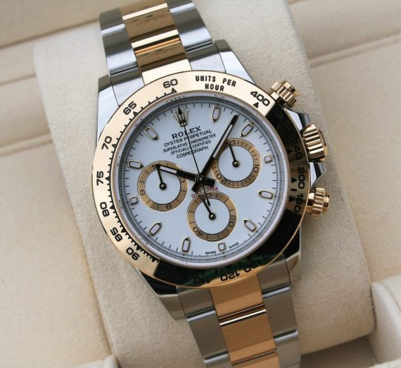 ROLEX DAYTONA NEW MODEL WHITE DIAL 116503 3