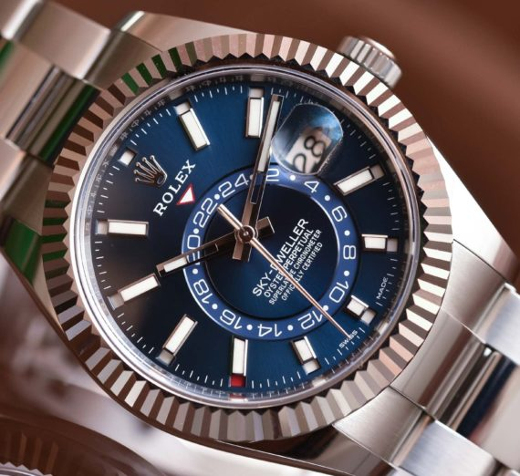 ROLEX SKY-DWELLER OYSTERSTEEL AND WHITE GOLD 326934 1