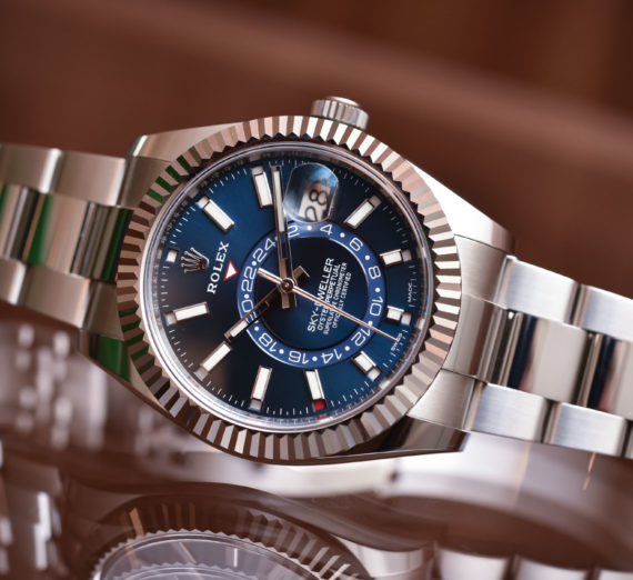 ROLEX SKY-DWELLER OYSTERSTEEL AND WHITE GOLD 326934 2