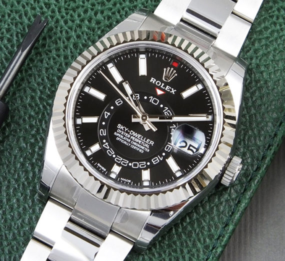 ROLEX SKY-DWELLER OYSTERSTEEL AND WHITE GOLD 326934 6