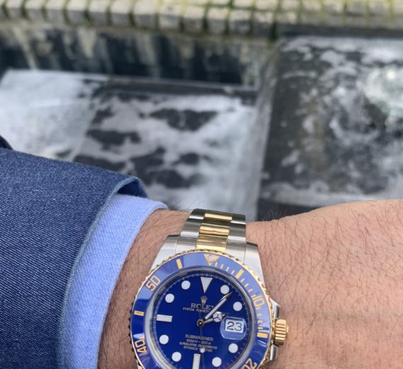 ROLEX SUBMARINER STEEL & GOLD 116613LB 1