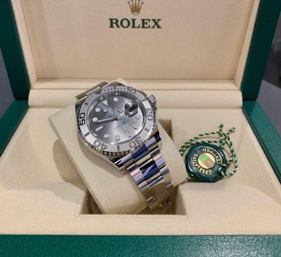 ROLEX YACHT-MASTER 40 126622 STEEL & PLATINUM 4