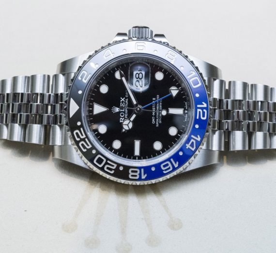 ROLEX GMT MASTER II BATMAN 126710BLNR 36