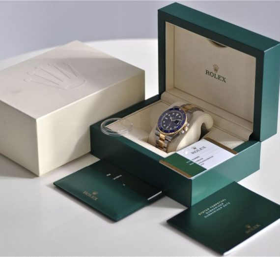 ROLEX SUBMARINER STEEL AND GOLD 116613LB 10