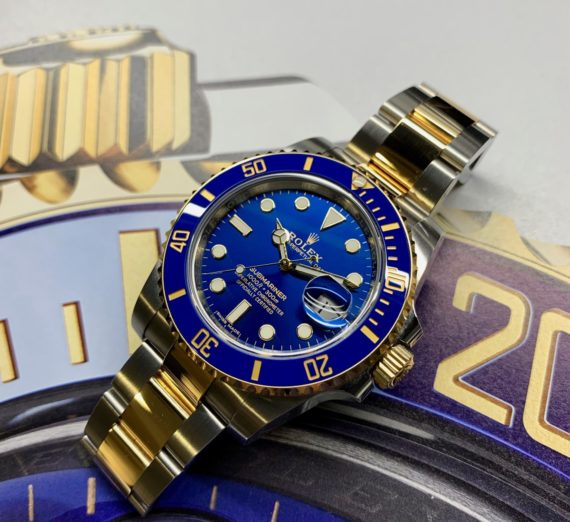 ROLEX SUBMARINER STEEL AND GOLD 116613LB 12