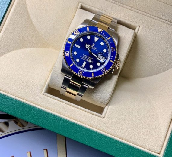 ROLEX SUBMARINER STEEL AND GOLD 116613LB 13