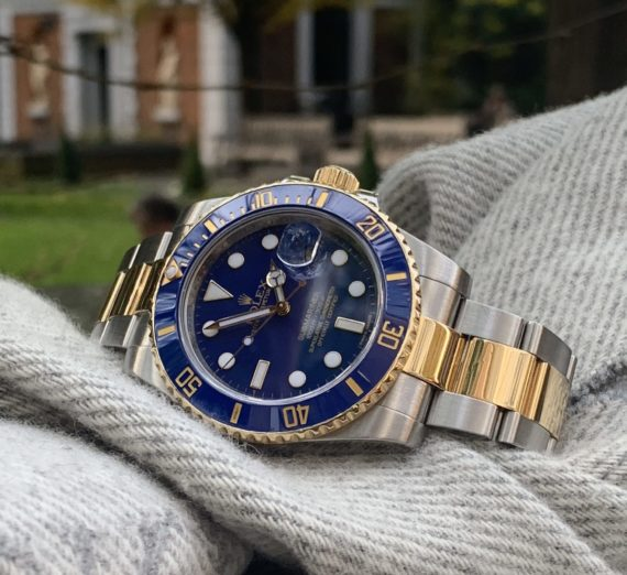 ROLEX SUBMARINER STEEL AND GOLD 116613LB 3