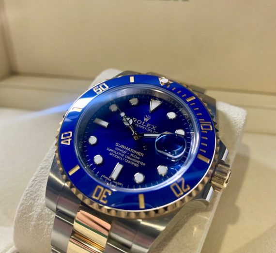 ROLEX SUBMARINER STEEL AND GOLD 116613LB 5