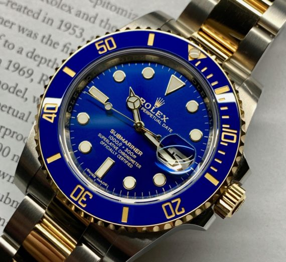 ROLEX SUBMARINER STEEL AND GOLD 116613LB 8