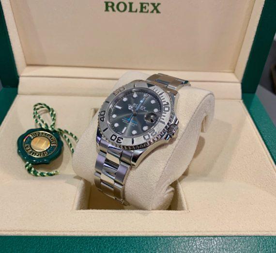 ROLEX YACHT-MASTER 40 126622 STEEL & PLATINUM 16