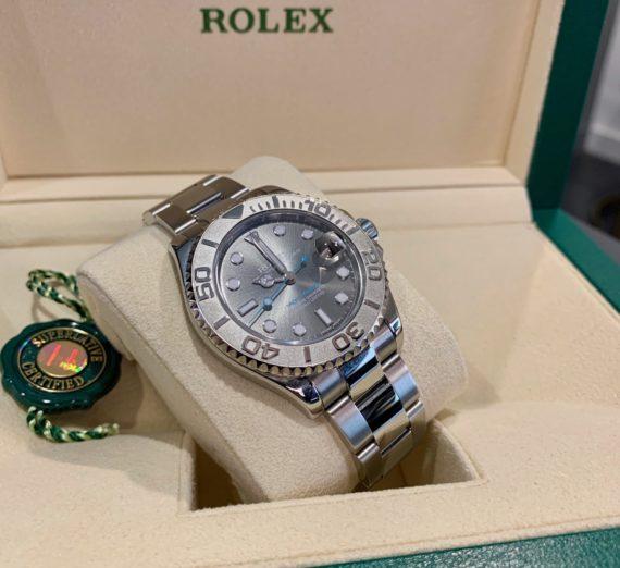 ROLEX YACHT-MASTER 40 126622 STEEL & PLATINUM 19
