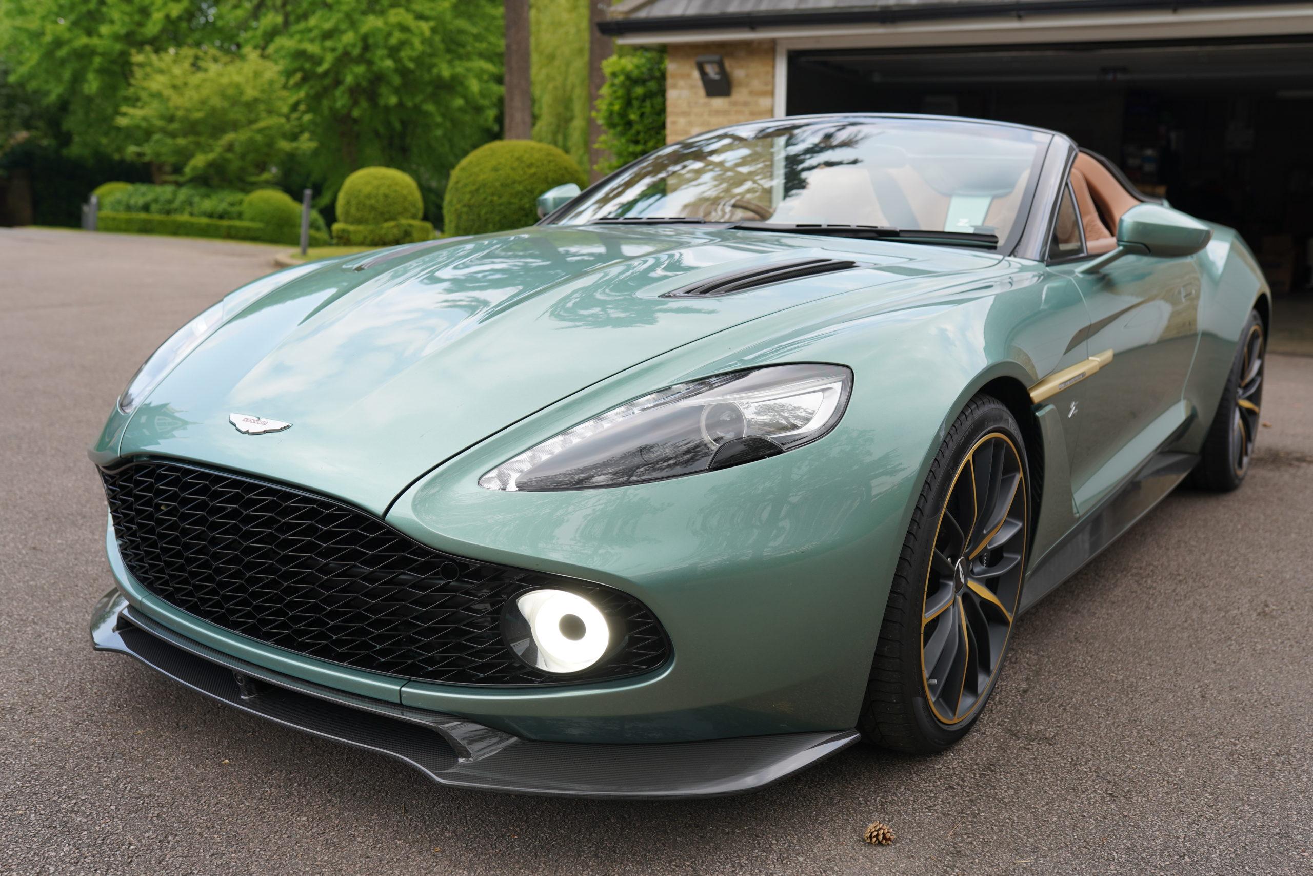 Super Rare Aston Martin Vanquish Zagato Speedster Carr Watches