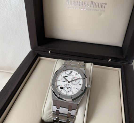 AUDEMARS PIGUET ROYAL OAK 39MM DUEL TIME 26120ST 1