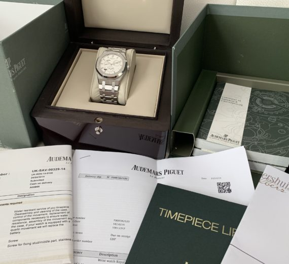 AUDEMARS PIGUET ROYAL OAK 39MM DUEL TIME 26120ST 2