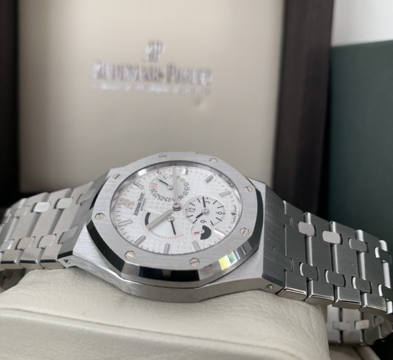 AUDEMARS PIGUET ROYAL OAK 39MM DUEL TIME 26120ST 4