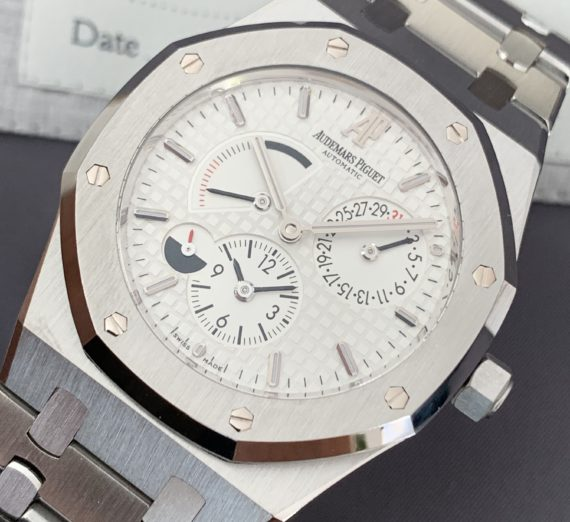 AUDEMARS PIGUET ROYAL OAK 39MM DUEL TIME 26120ST