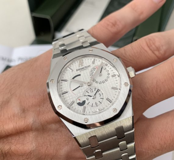 AUDEMARS PIGUET ROYAL OAK 39MM DUEL TIME 26120ST 6