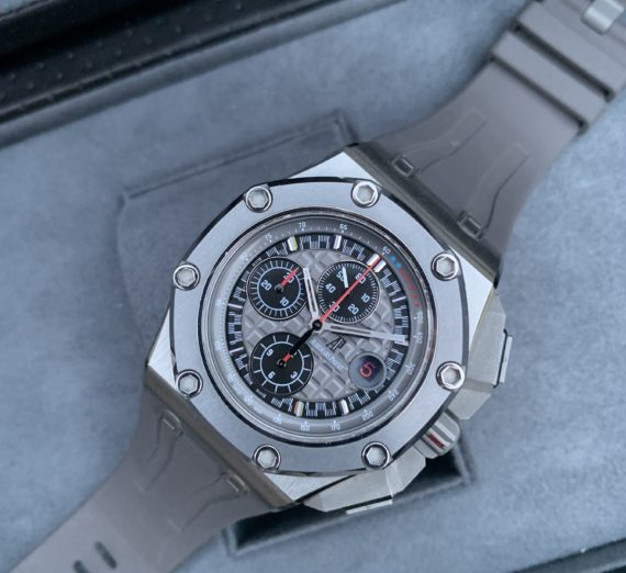 AUDEMARS PIGUET ROYAL OAK OFFSHORE MICHEAL SCHUMACHER LIMITED EDITION TITANIUM 2