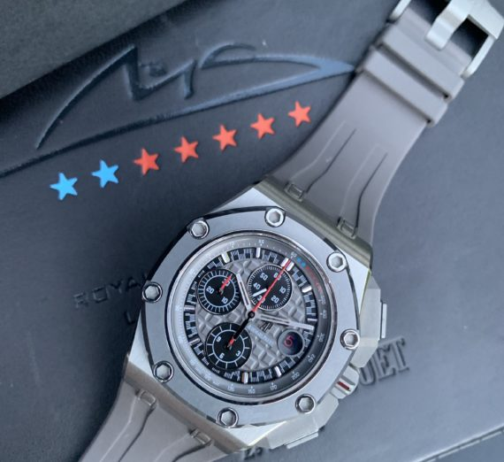 AUDEMARS PIGUET ROYAL OAK OFFSHORE MICHEAL SCHUMACHER LIMITED EDITION TITANIUM 3