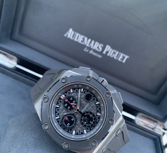 AUDEMARS PIGUET ROYAL OAK OFFSHORE MICHEAL SCHUMACHER LIMITED EDITION TITANIUM 4