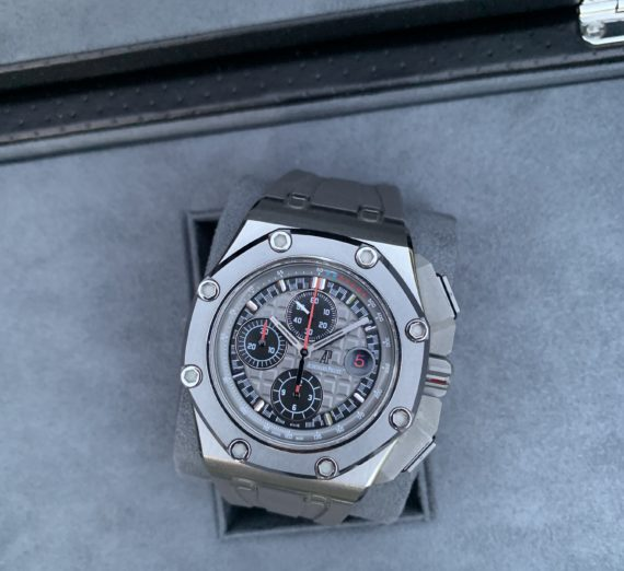 AUDEMARS PIGUET ROYAL OAK OFFSHORE MICHEAL SCHUMACHER LIMITED EDITION TITANIUM