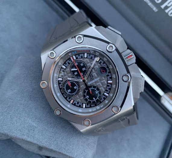 AUDEMARS PIGUET ROYAL OAK OFFSHORE MICHEAL SCHUMACHER LIMITED EDITION TITANIUM 5