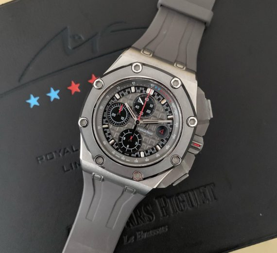 AUDEMARS PIGUET ROYAL OAK OFFSHORE MICHEAL SCHUMACHER LIMITED EDITION TITANIUM 7