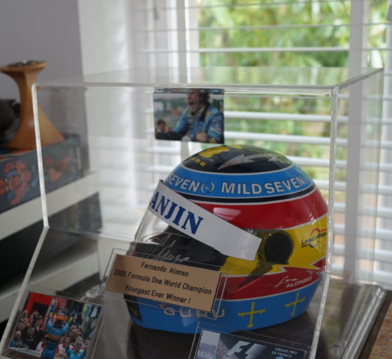 Fernando Alonso Signed Helmet 1