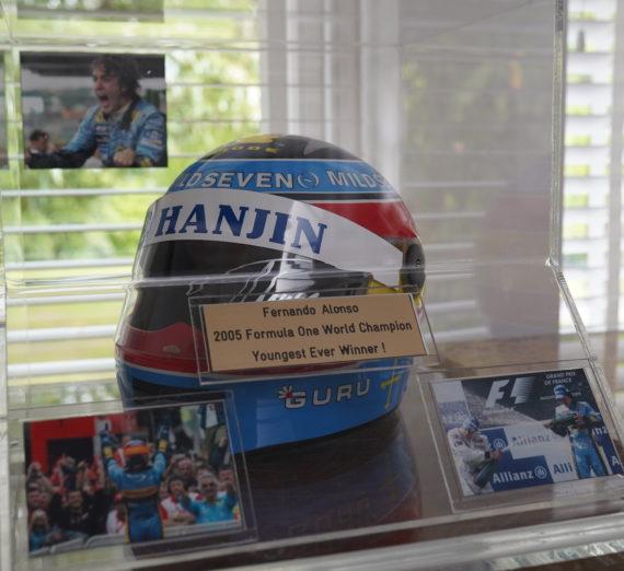 Fernando Alonso Signed Helmet 3