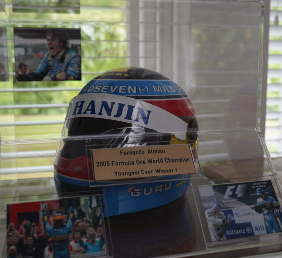 Fernando Alonso Signed Helmet 4