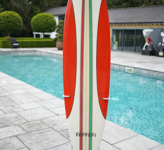 Limited Edition Ferrari 16 M Scuderia Spider Surfboard