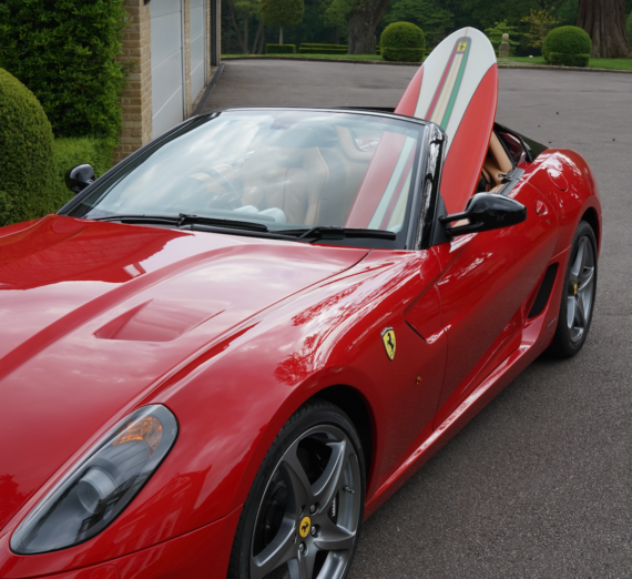 Limited Edition Ferrari 16 M Scuderia Spider Surfboard 6