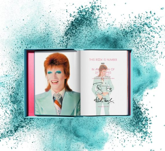 Mick Rock. David Bowie, Art Edition No. 101–200, 'Scotland, May 1973' Edition of 100 2