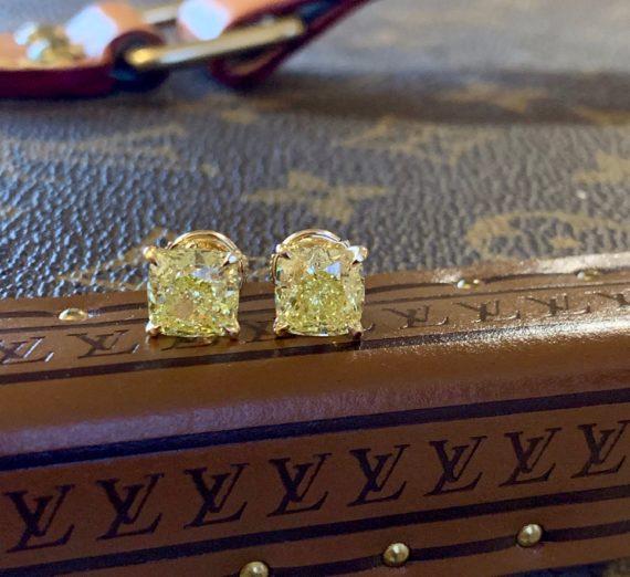 NATURAL YELLOW DIAMONDS 1
