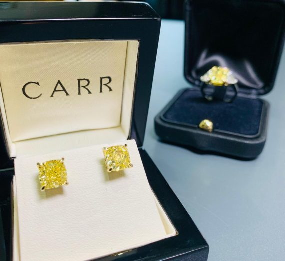 NATURAL YELLOW DIAMONDS