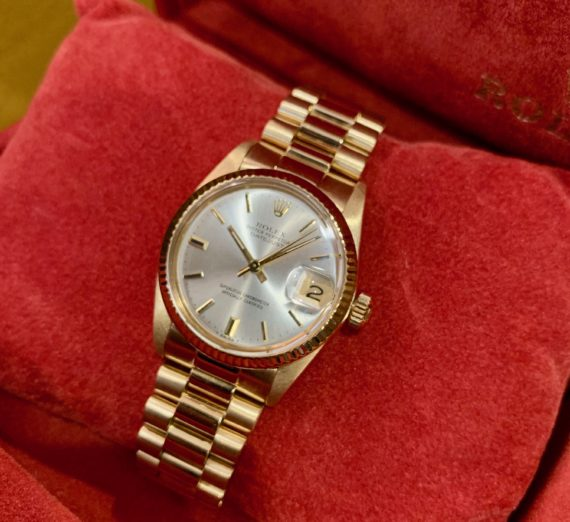 18CT ROLEX DATEJUST 5