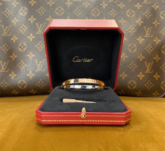 CARTIER LOVE BANGLE 6