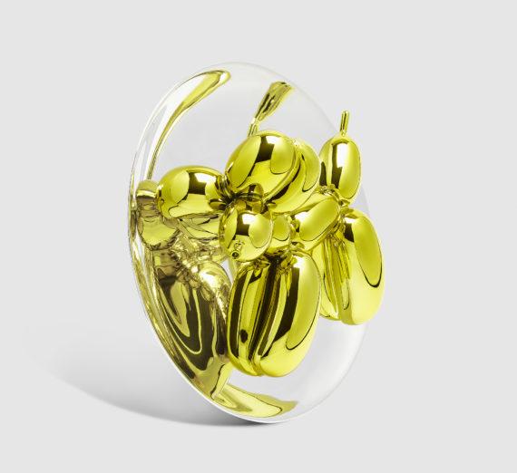 Jeff Koons -  Balloon Dog, Yellow 1