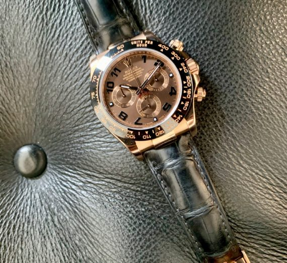 ROLEX DAYTONA 18CT ROSE GOLD MODEL 116515LN 1