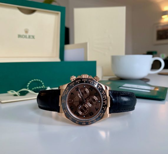 ROLEX DAYTONA 18CT ROSE GOLD MODEL 116515LN 2